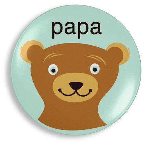 Papa Bear Plate - Jane Jenni