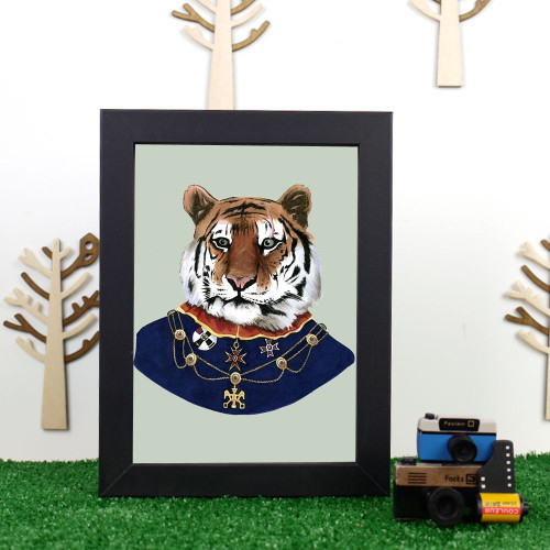 Ryan Berkley Tiger Framed Print