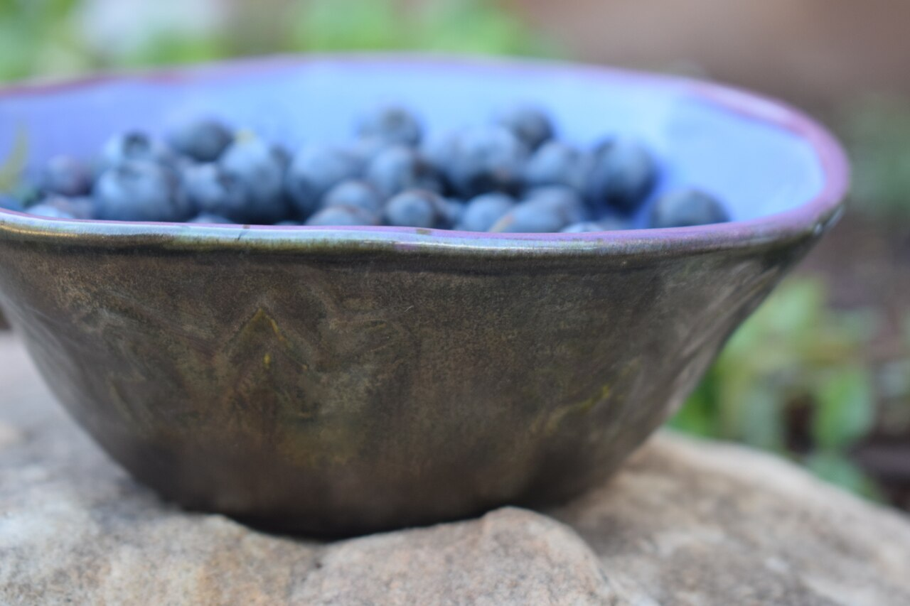 (CB06-LM) Cereal Bowl- Lavender Moon