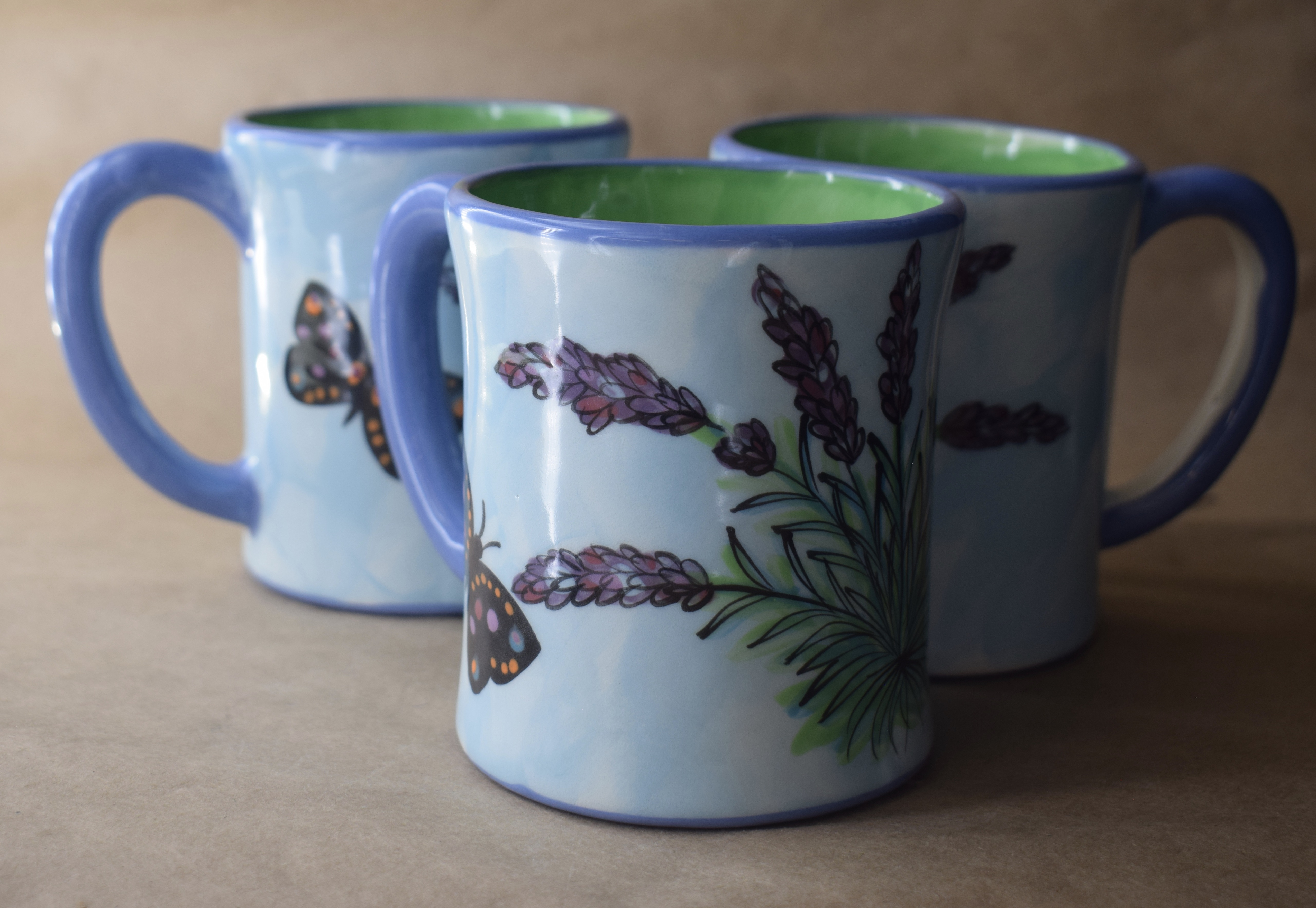 (LM02-EL) 12oz. Mug- English Lavender