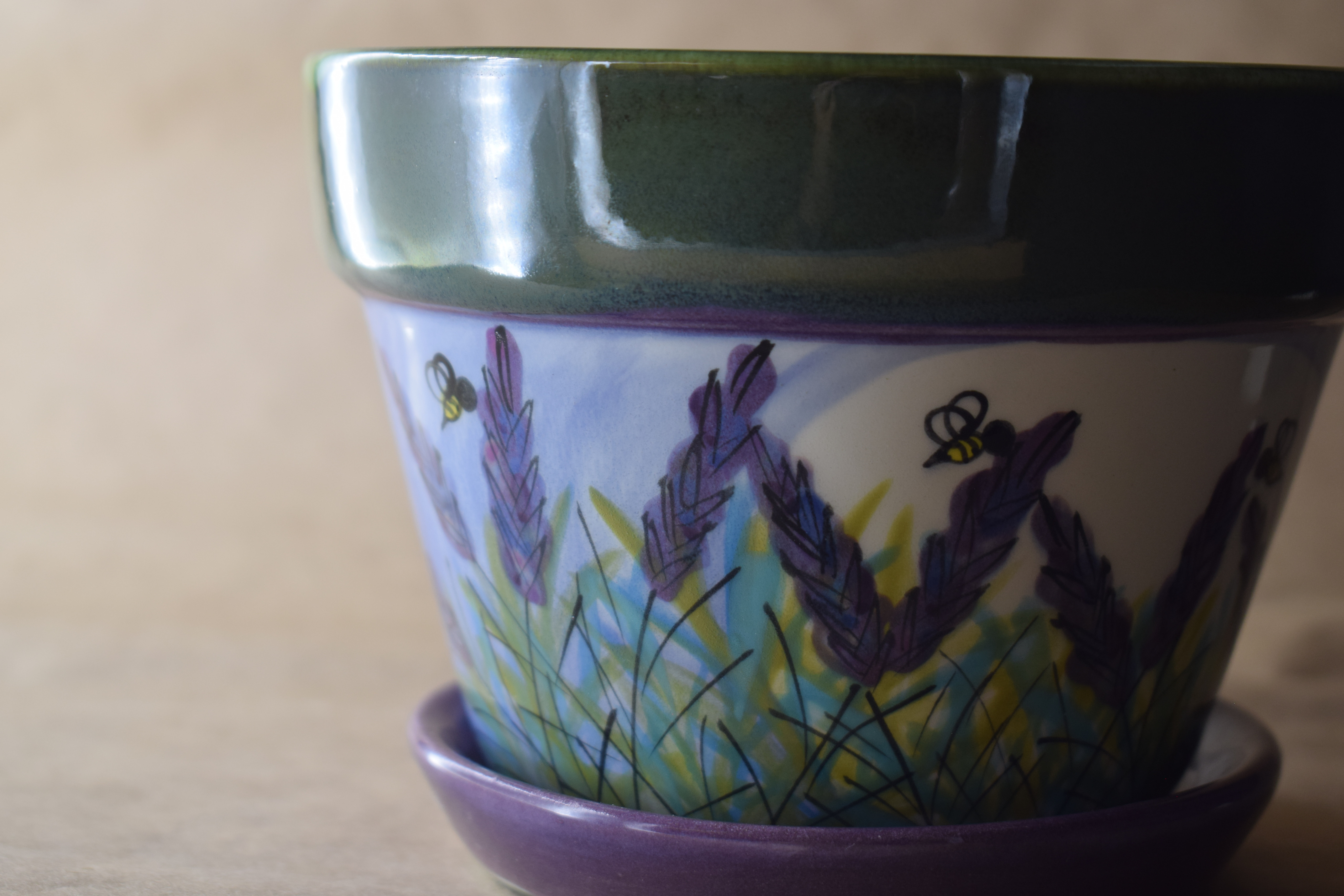(MP06-LM) Medium Planter- Lavender Moon