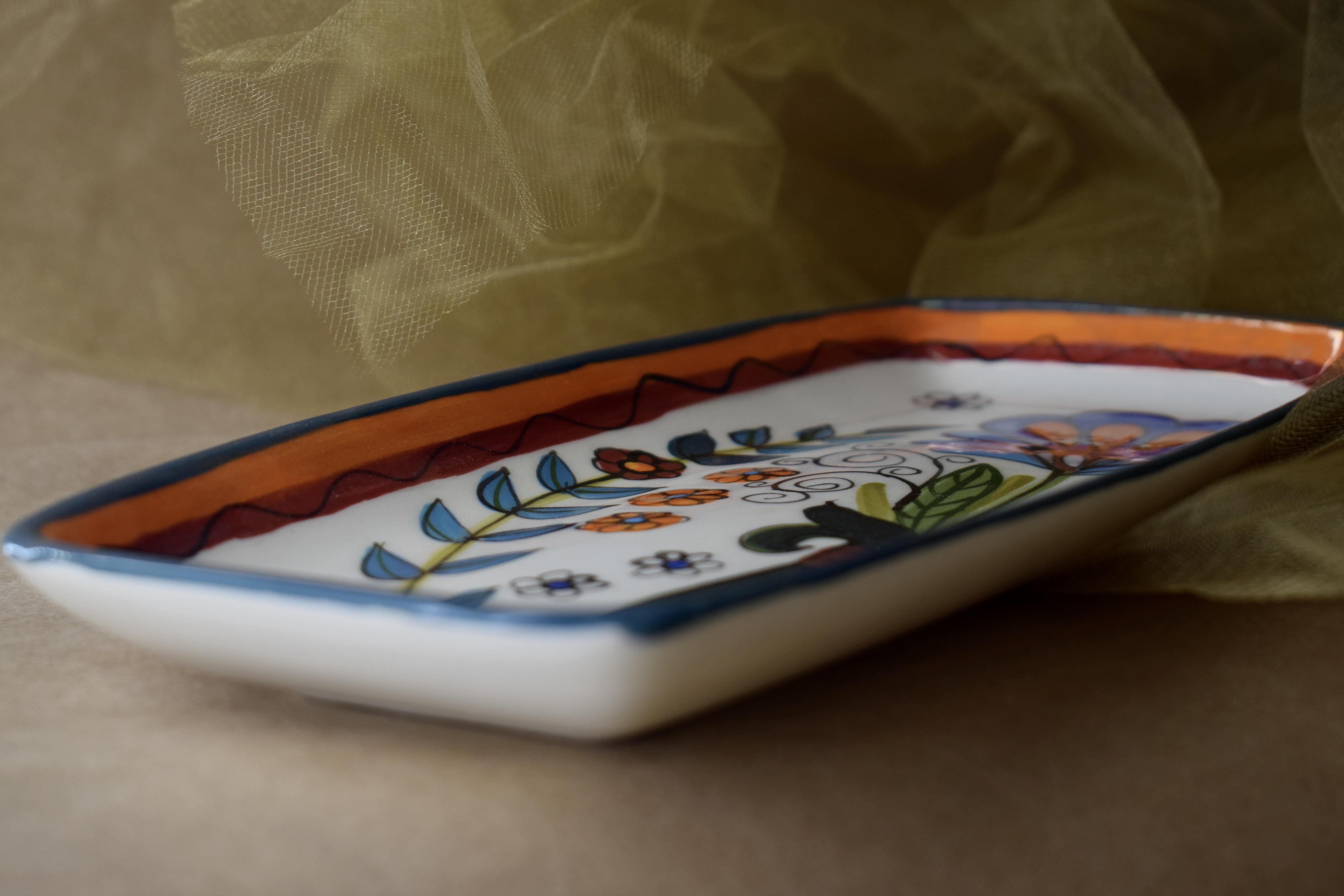 (RP10-MNC) Rectangular Plate- Mandarino