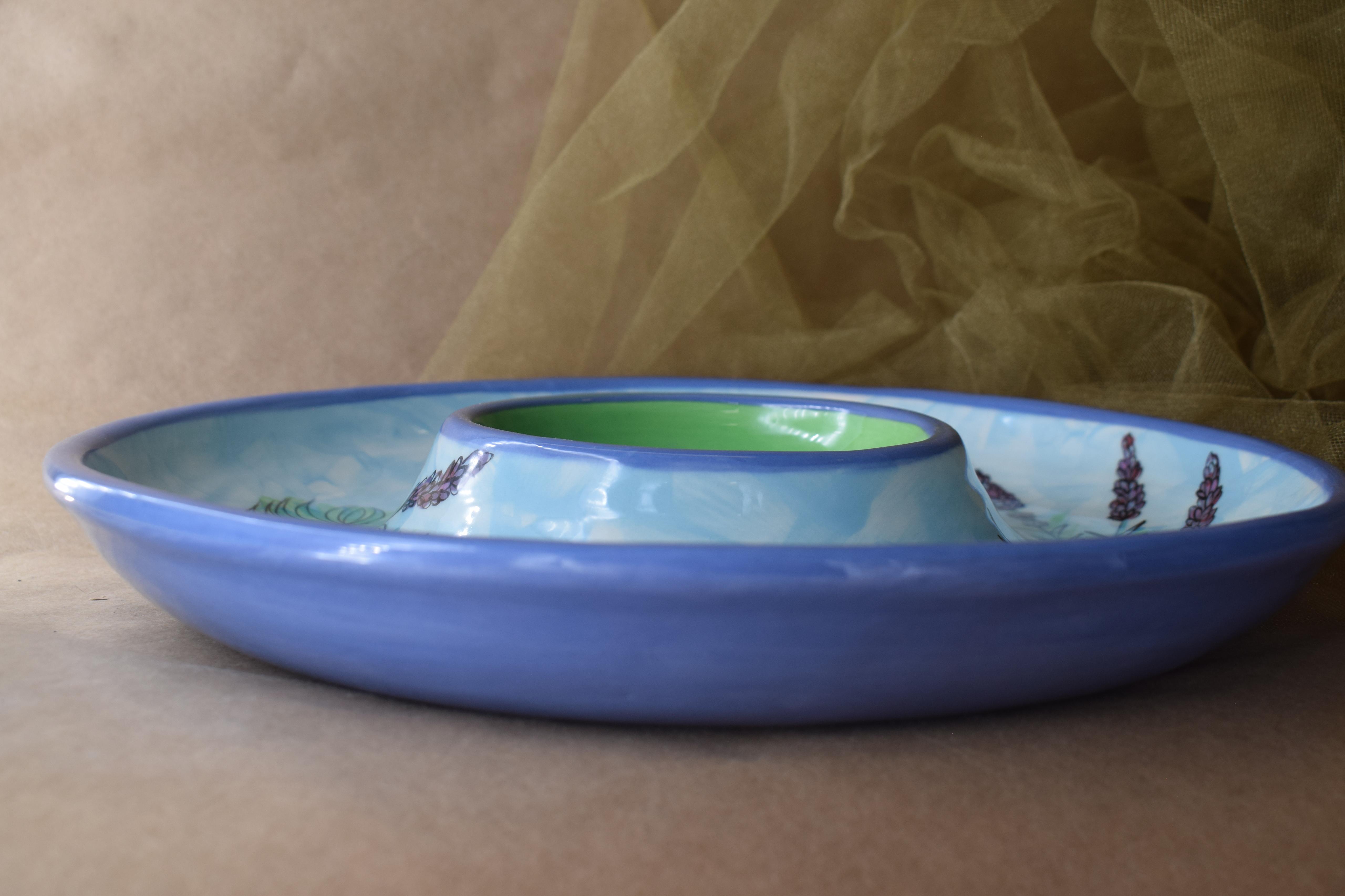 (CD11-EL) Chip and Dip-English Lavender