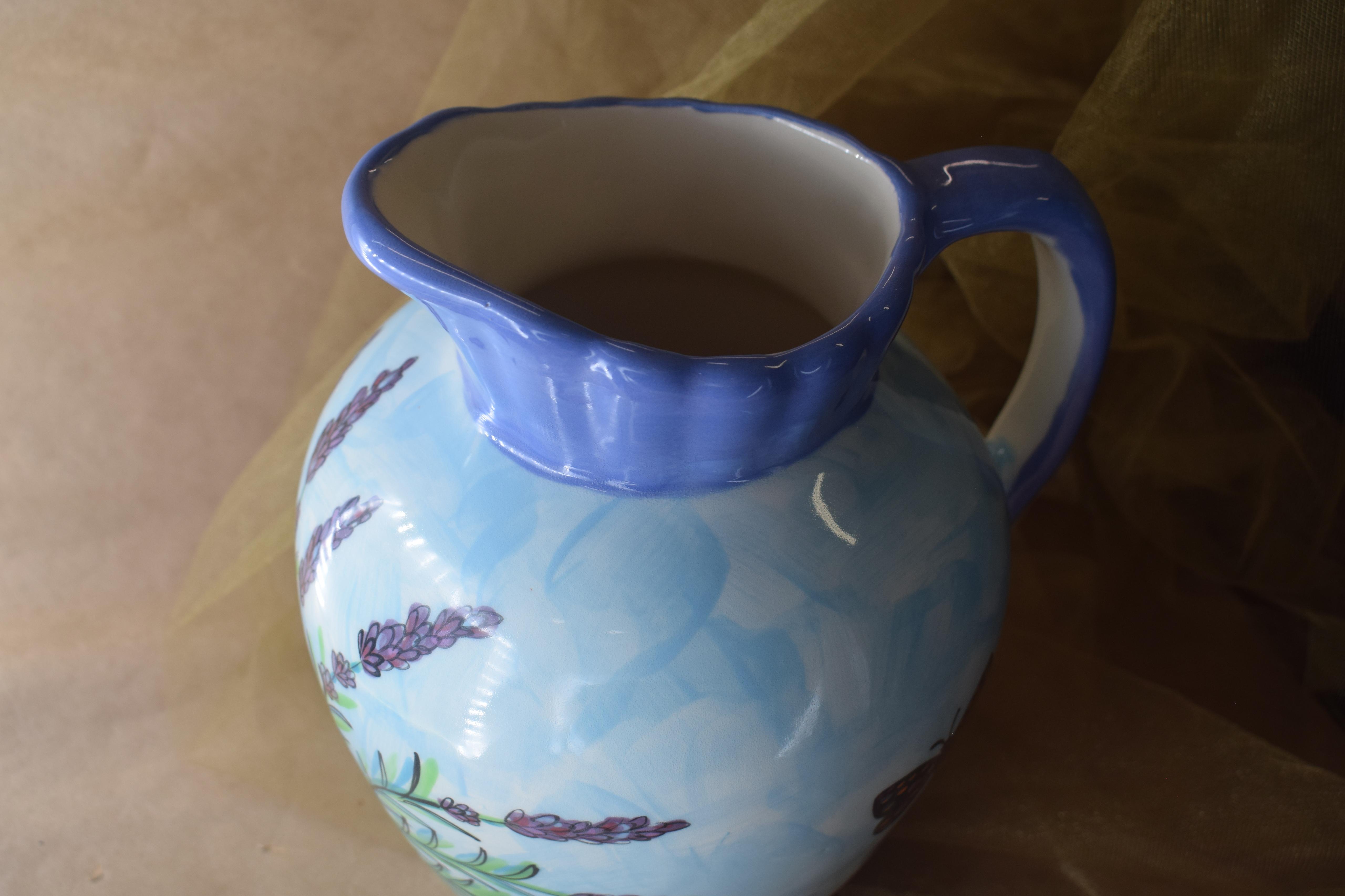 (LP03-EL) Large Pitcher- English Lavender