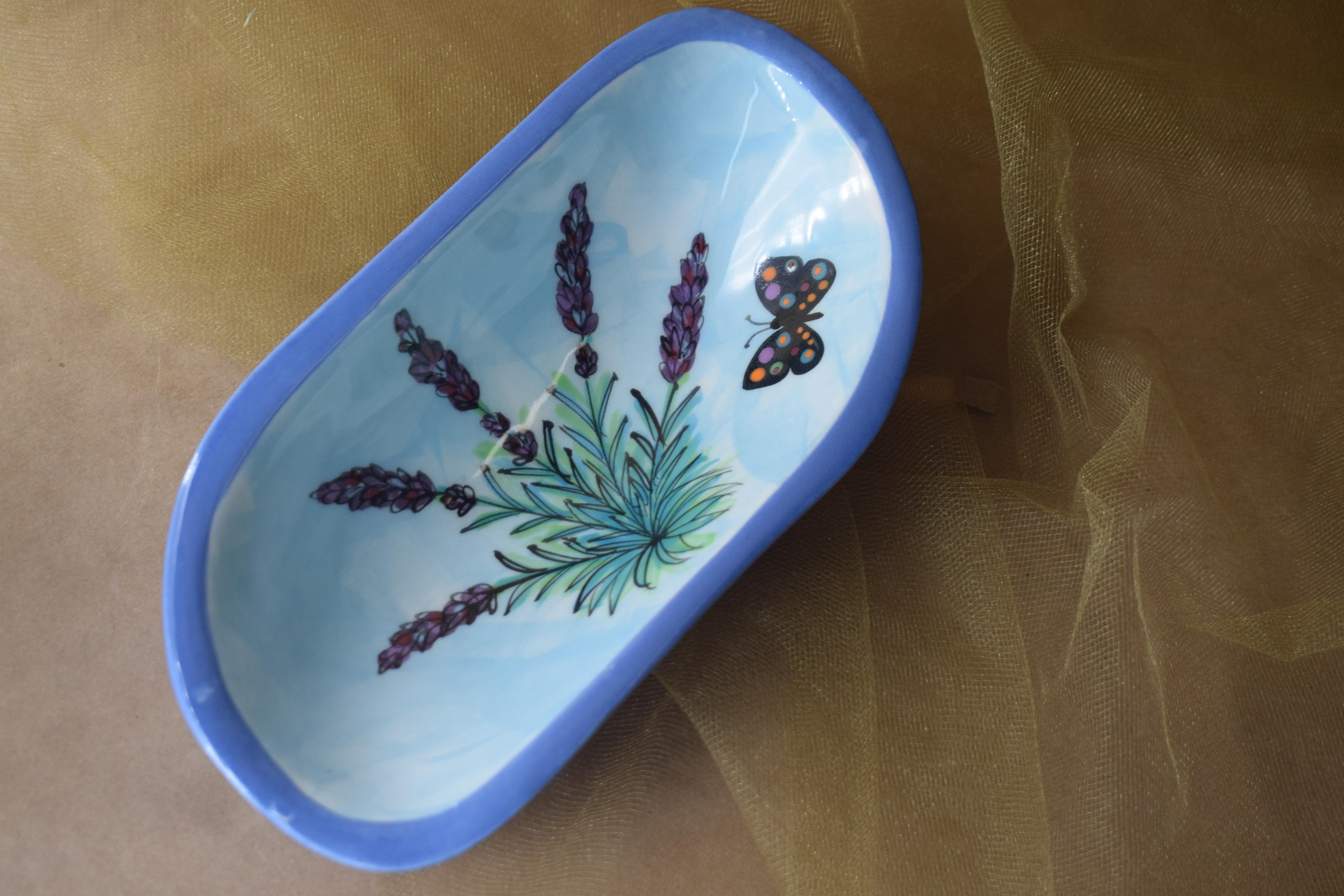 """(SD07-EL) 7"""" Soap- English Lavender"""
