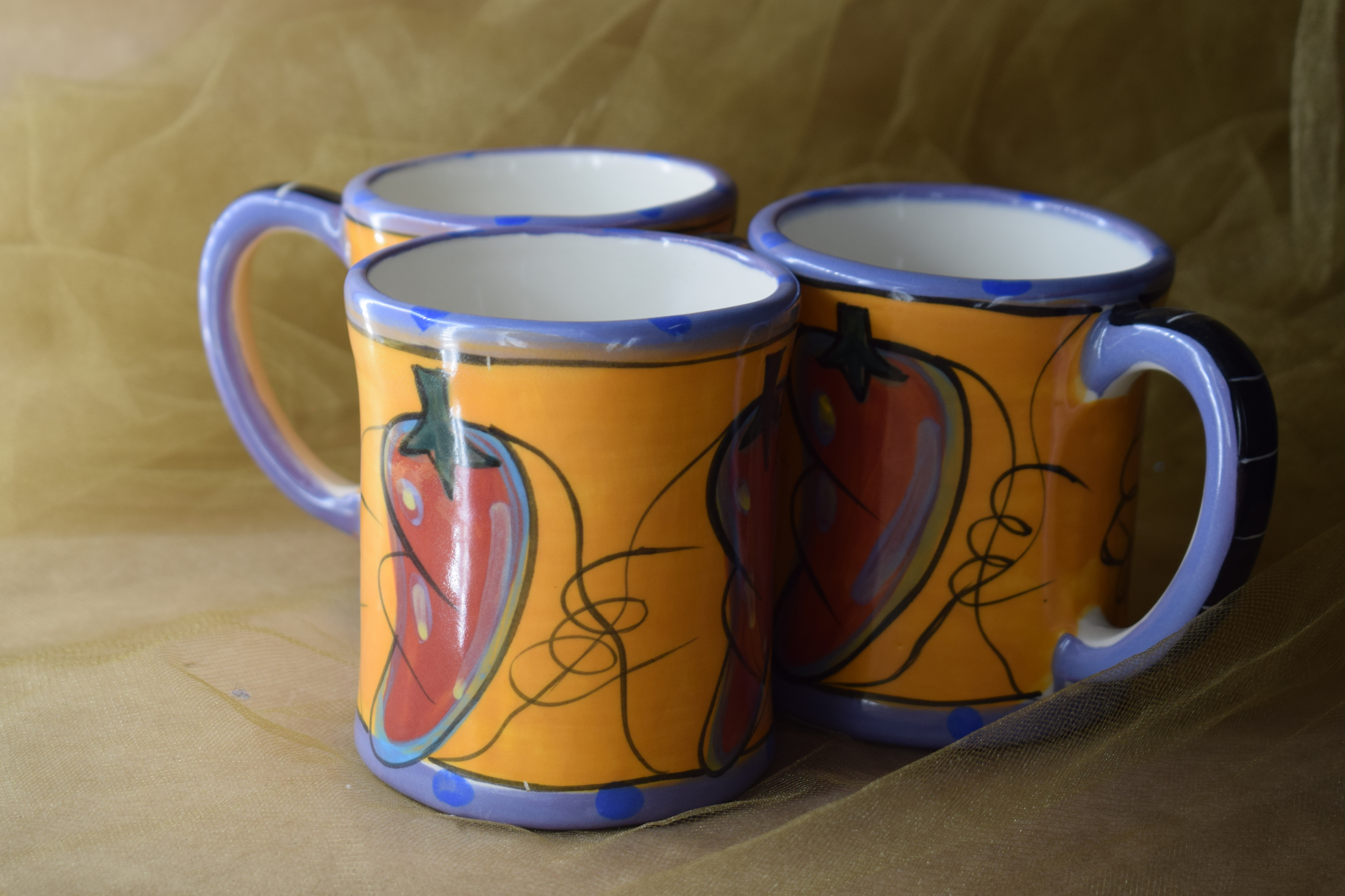 (LM02-CP) 12oz. Mug- Chile Pachanga