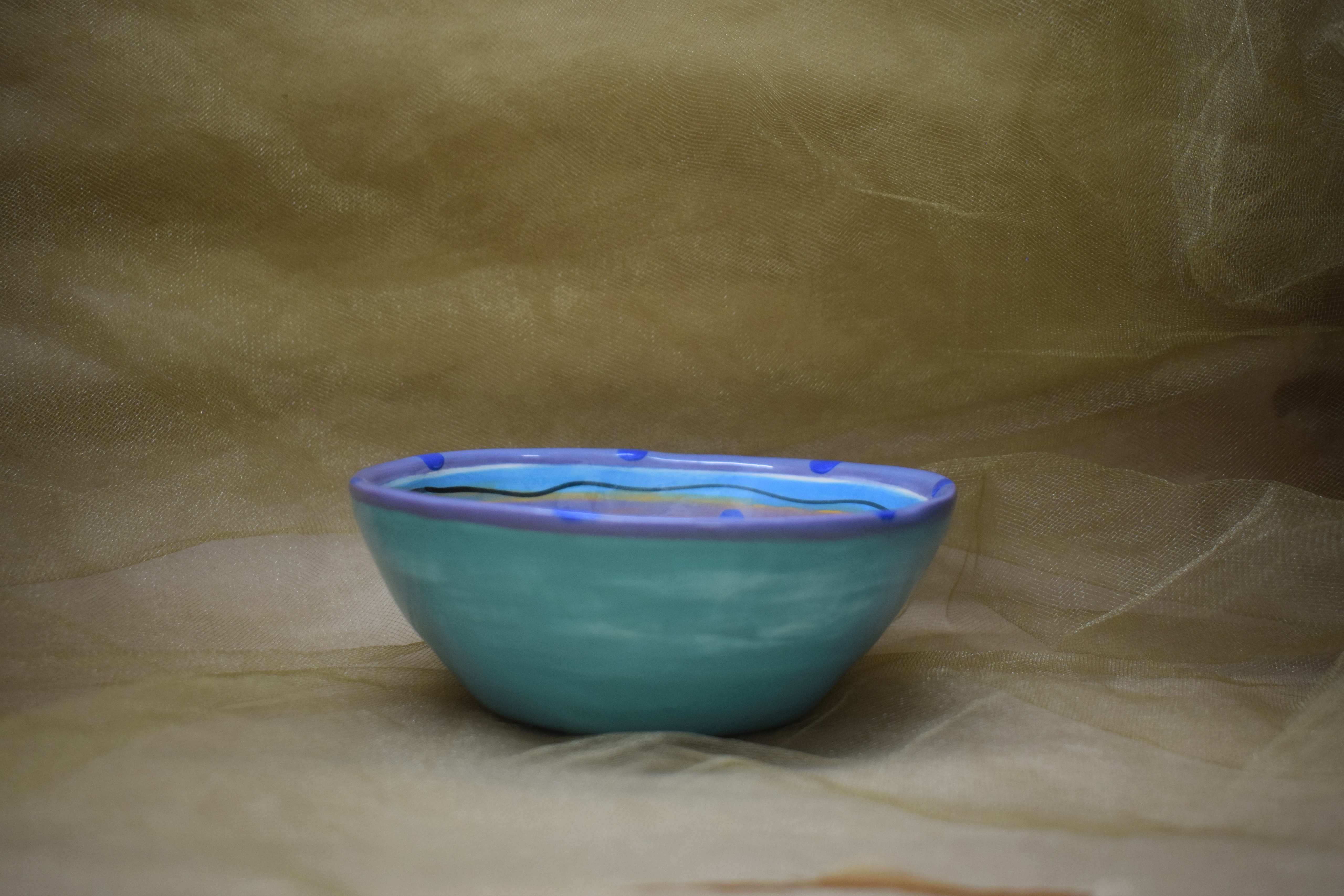 "(CB06-CP) 6"" Cereal Bowl- Chile Pachanga"