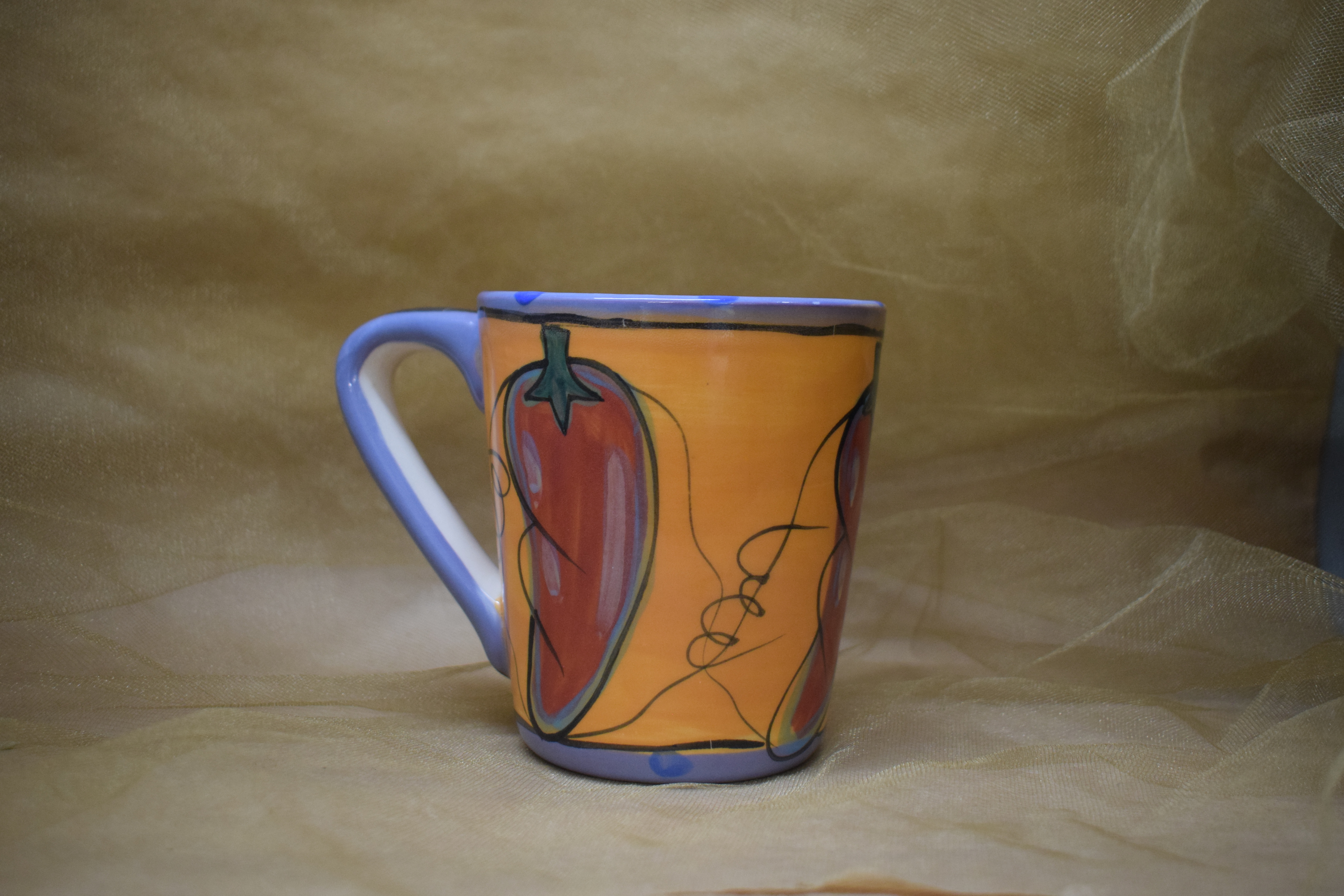 (AM04-CP) Angled Mug- Chile Pachanga