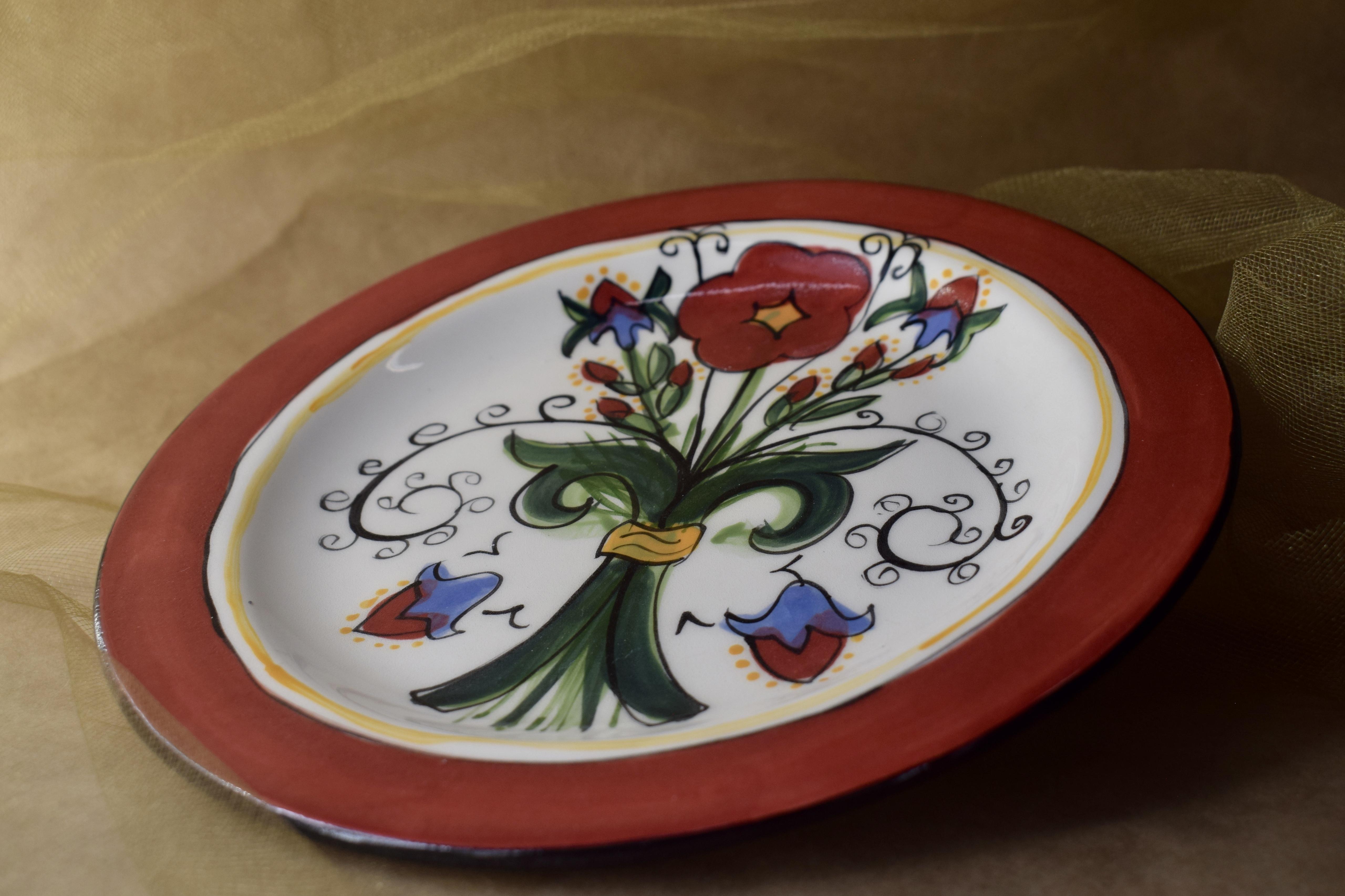 (DP08-VR) Dinner Plate- Venetian Red