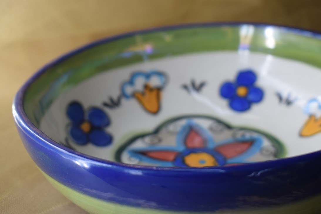 "(CB11-PR) 7"" Cereal Bowl- Primavera"
