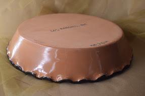 """(RPP11-LR) 10"""" Pie Plate- Los Ranchos"""