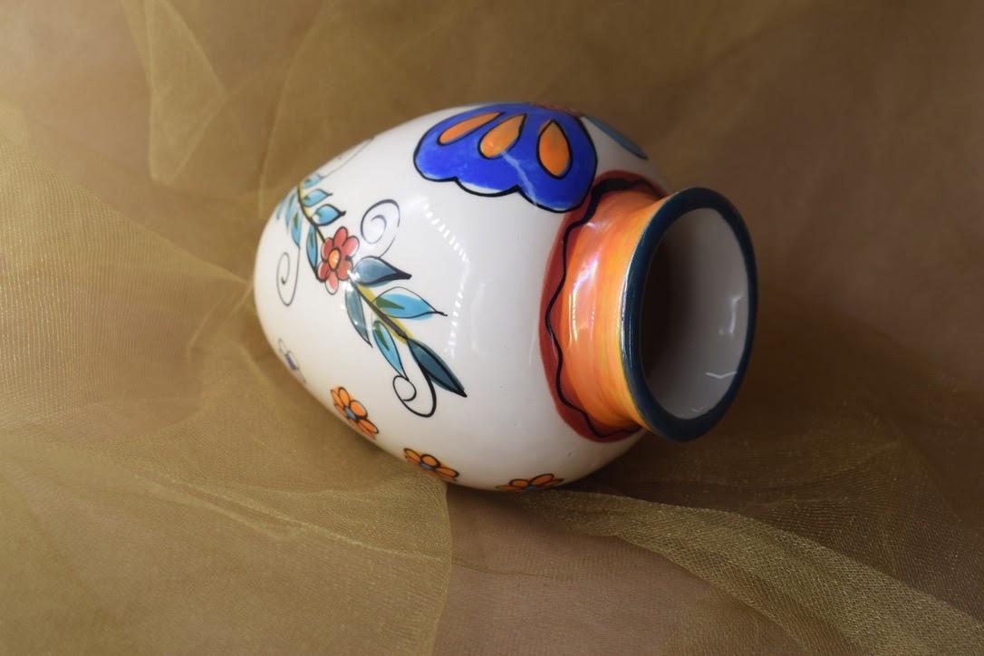 (SV21-MNC) Small Vase- Mandarino