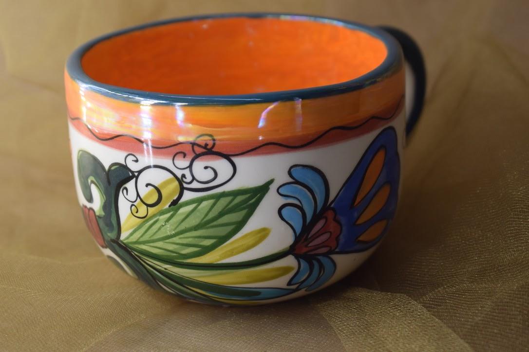 (LM16-MNC) 16oz. Latte Mug- Mandarino