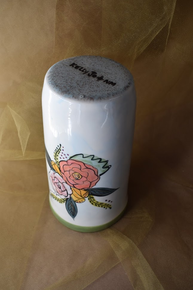 "(WS10-JF) 10"" Wine Sleeve- Jenna Floral"