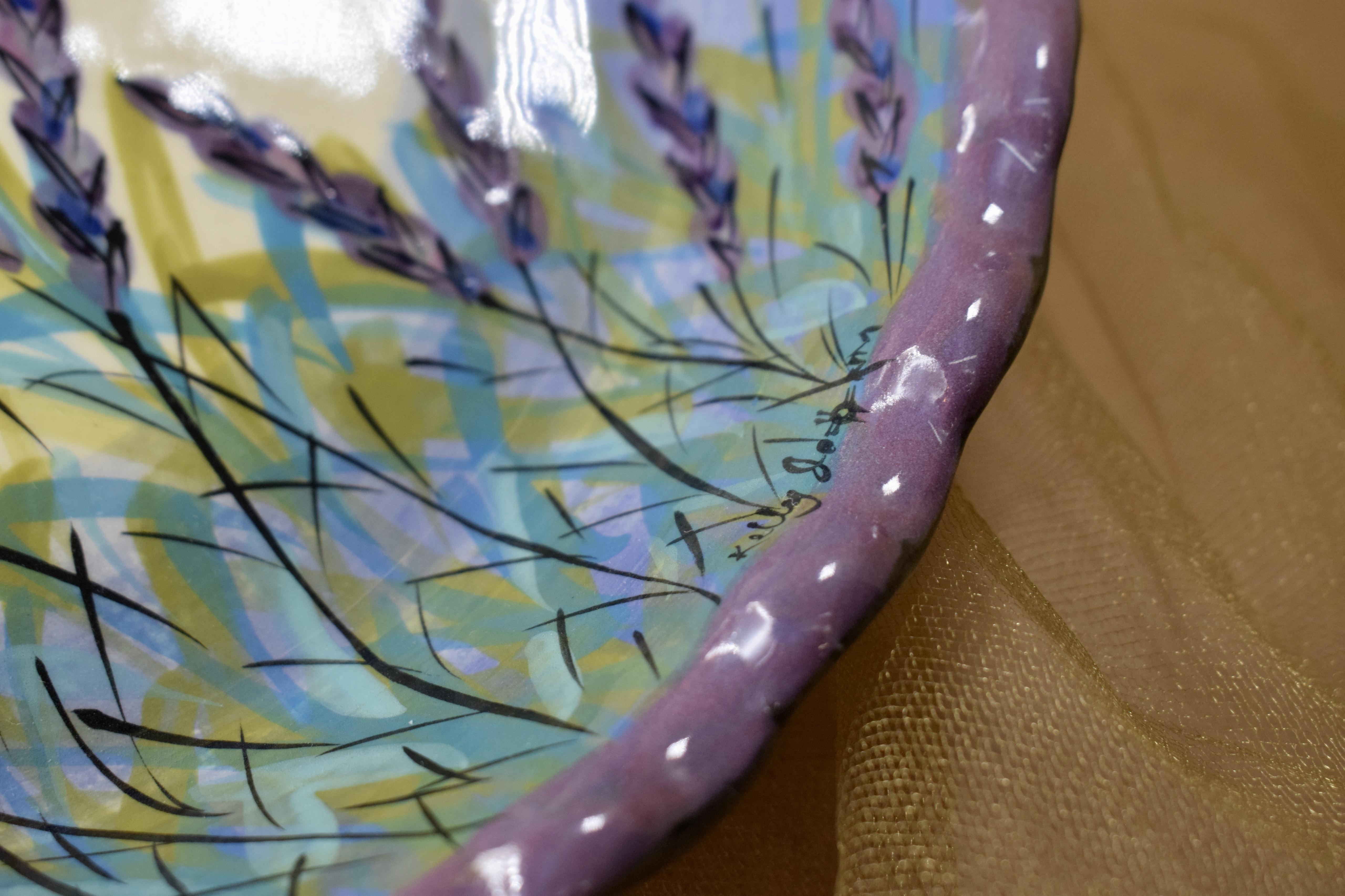 "(RPP11-LM) 10"" Pie Plate-Lavender Moon"