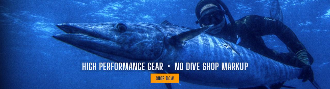 MAKO Spearguns, high performance gear, no dive shop markup 1