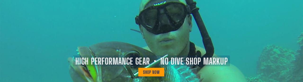 MAKO Spearguns, high performance gear, no dive shop markup 2