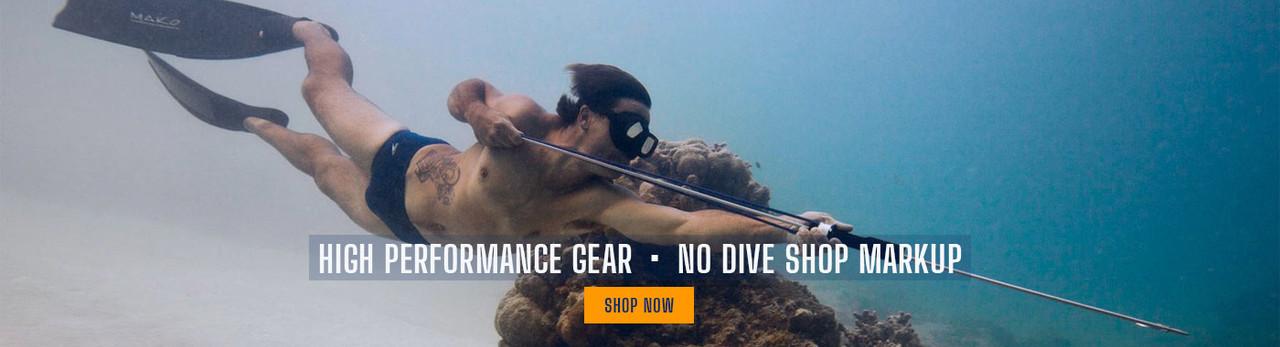 MAKO Spearguns, high performance gear, no dive shop markup 3