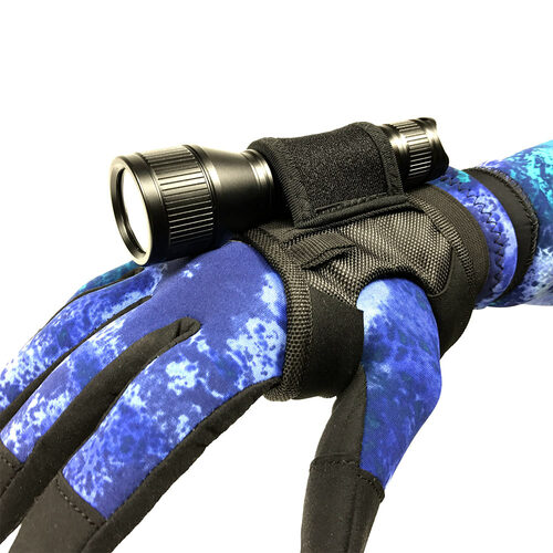 Wrist Glove Flashlight Holder