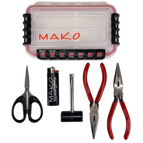 Band Tying Kit with waterproof case