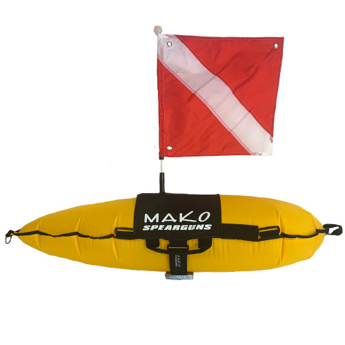 Our Professional Inflatable Spearfishing Float is a great all around spearfishing float for small to medium sized fish and great for travel