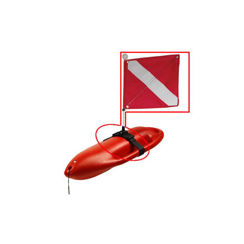 Hard Float Replacement Flag, Flag Holder and Strap