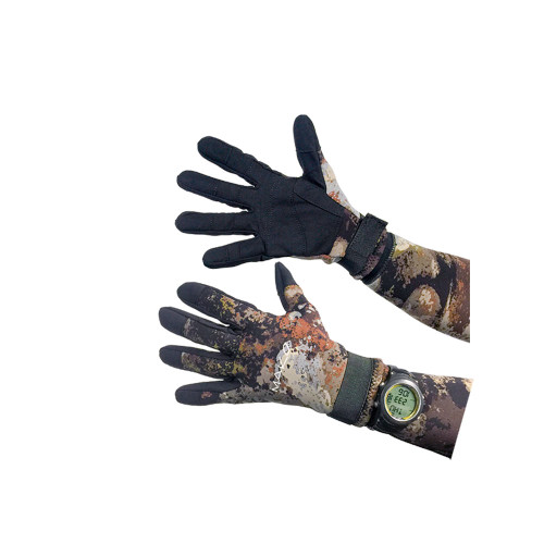 Diving Gloves Yamamoto 3D Reef Camo