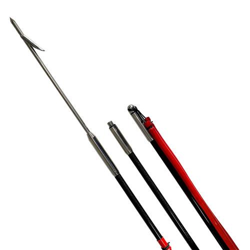 Carbon Elite Traveler Pole Spear (4 in 1) 10 Foot Package
