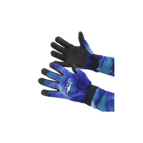 Diving Gloves Yamamoto Blue Camo