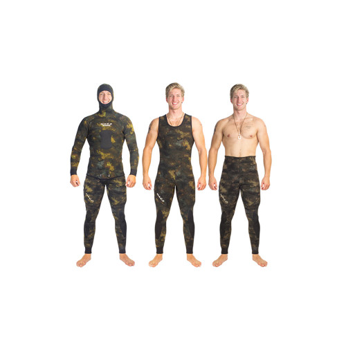 Yamamoto Reef Camo 2 Piece Open Cell Wetsuits