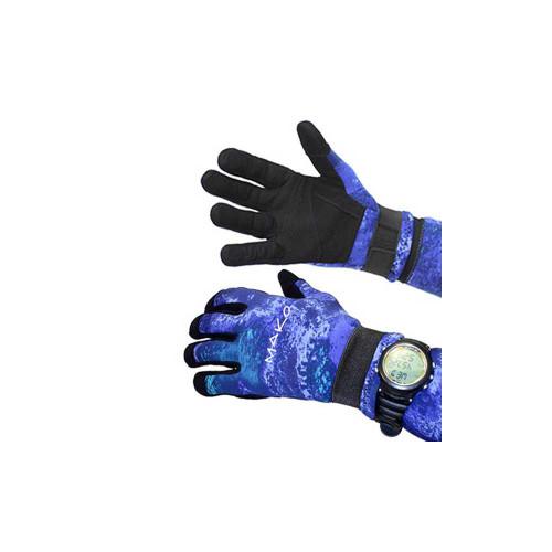 Diving Gloves Yamamoto 3D Ocean Blue Camo