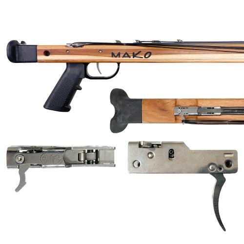 Double Roller Euro Speargun Reverse Trigger Mechanism