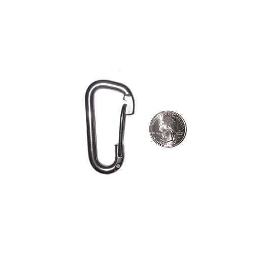 Mini Stainless Steel Carabiner