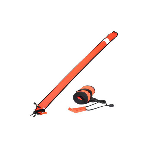 SMB Surface Marker Buoy with storm whistle