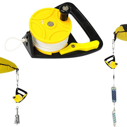 The MAKO Spearguns Utility Reel is a versatile reel with many uses as a kayak anchor line, flasher line, or marker buoy line