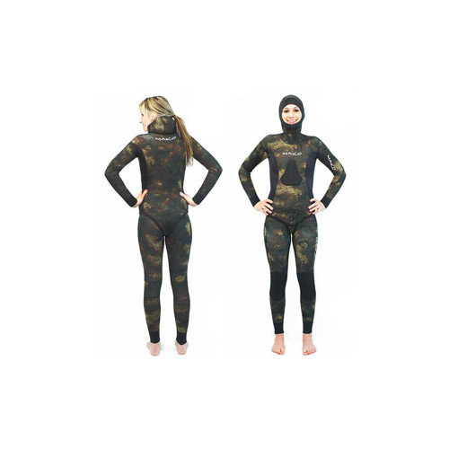 Women's Yamamoto Reef Camo 2 Piece Open Cell Wetsuits