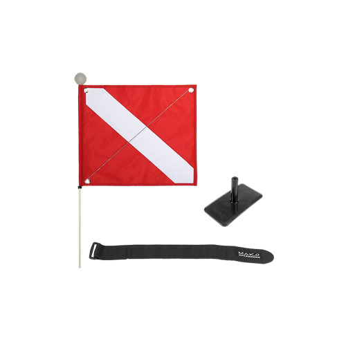 Inflatable Float Optional Dive Flag Package