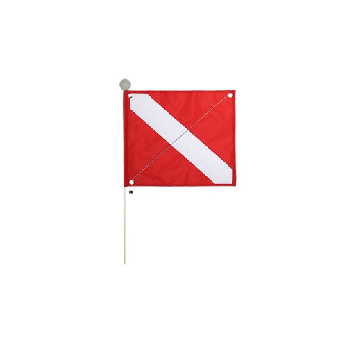 Florida Legal Dive Flag (with pole and puncture proof safety ball)