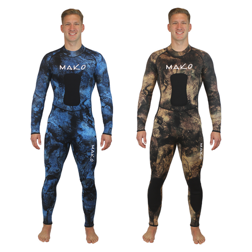 This is the ultimate warm water wetsuit for both blue water hunting and reef hunting with amazing stretch that increases your breath hold so you can dive deeper and longer.