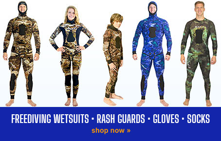 Shop Spearfishing Wetsuits