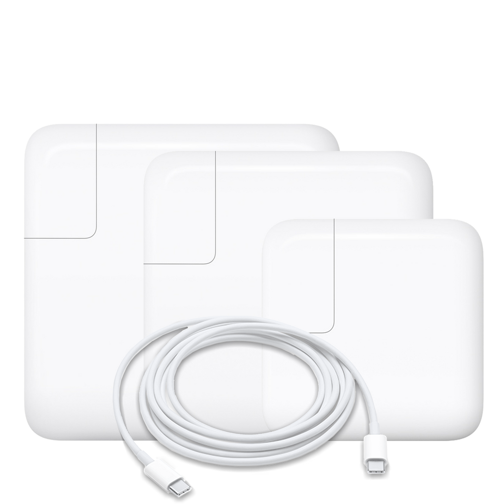 USB-C Adapter 29w, 61w, 87w or 96w (CABLE INCLUDED)