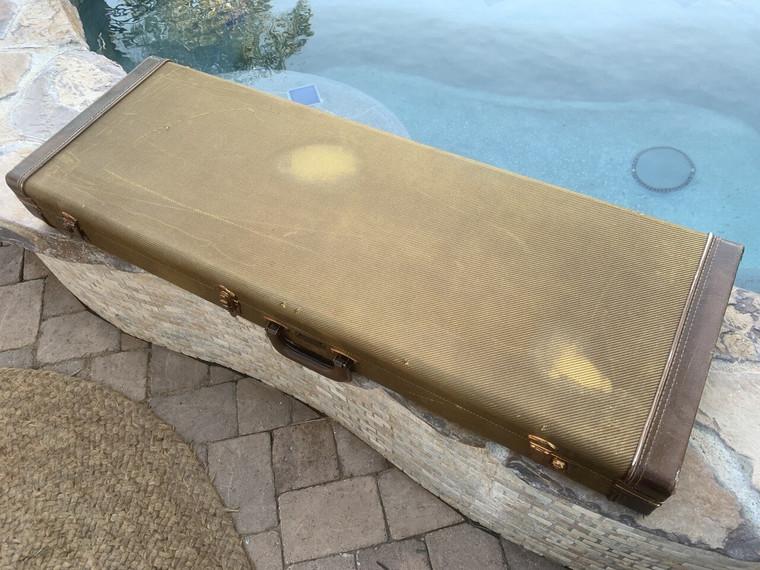 Real Life Relics Fender® Tweed Case Strat® Tele®  Aged Tweed #9