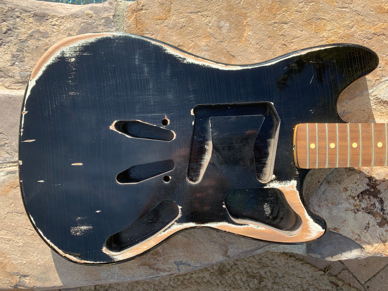 Real Life Relics Mustang® Body Aged Black Nitro Lacquer Finish