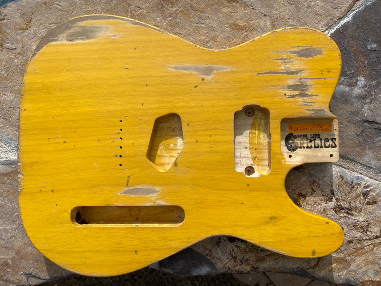 Real Life Relics KEEF Macawber Inspired Butterscotch Blond T Body  Dual P-90  Aged Nitro Lacquer