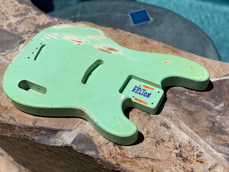 Real Life Relics Custom Class 54 Bass Body Aged Surf Green Nitro lacquer