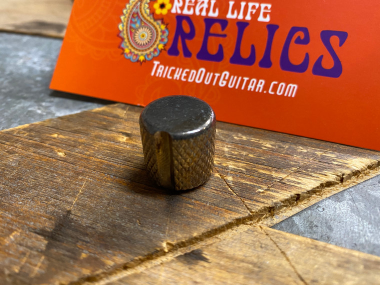 Real Life Relics Goldo® Knob Nickel Notched Knurled Relic