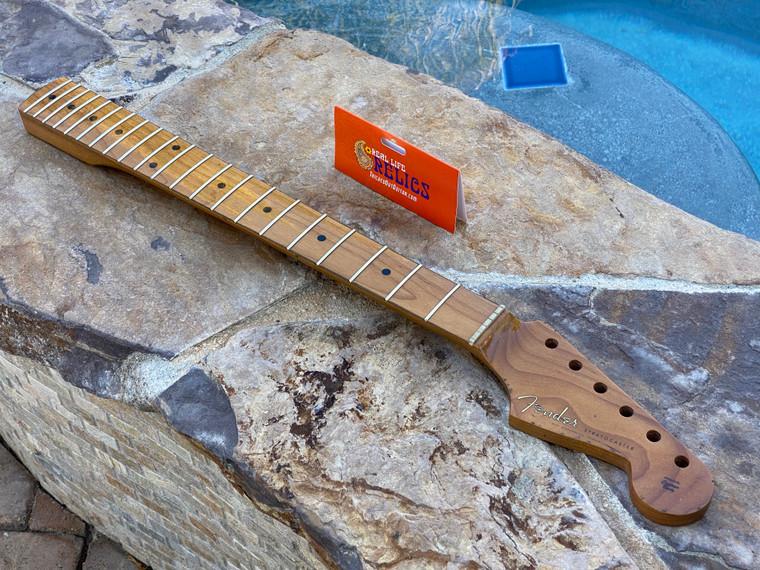 "Real Life Relics #1 Fender® Roasted Maple Vintera® Mod '60's Stratocaster® Neck 21 Medium Jumbo Frets 9.5"" ""C"" Shape 0999992920"