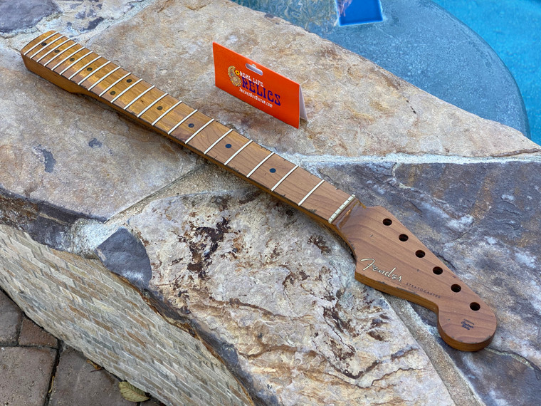 "Real Life Relics #2 Fender® Roasted Maple Vintera® Mod '60's Stratocaster® Neck 21 Medium Jumbo Frets 9.5"" ""C"" Shape 0999992920"