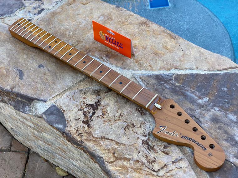"Real Life Relics #2 Fender® Roasted Maple Vintera® Mod '70's Stratocaster® Neck 21 Medium Jumbo Frets 9.5"" ""C"" Shape 0999742920"