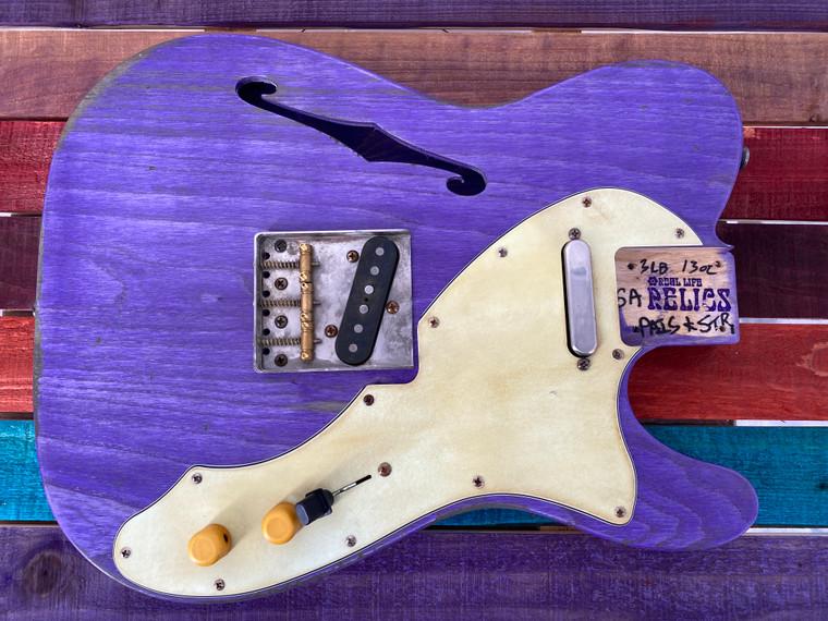 Relics Custom Class Loaded 69 T Tele® Body Trans Purple Nitro Lacquer Duncans